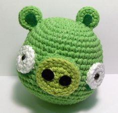 Angry Birds Amigurumi Pattern; Great site, more free patterns