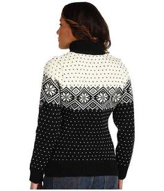 Dale of Norway Womens Sweater Stjerne Black Off White Large 100 Merino Wool   eBay