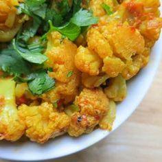 Masala Cauliflower (Masala Gobi)