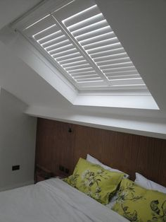 Skylight Plantation Shutters - for Velux and Fakro windows