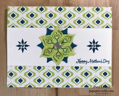 DIY Stampin Up Eastern Palace Happy Mother's Day card