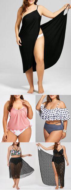 Cheap Plus Size Swimwear Cut Out Swimsuits, Plus Size Swimsuits, Bathing Suit Dress, Plunging One Piece Swimsuit, Plus Size Kleidung, Plus Size Bikini, Plus Size Beauty, One Piece Suit, Plus Size Model