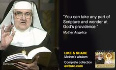 #TuesdayTip #MotherAngelica #EWTN #Advent