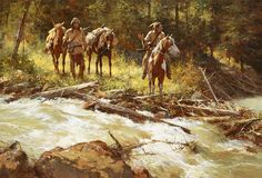 Broken Trails by Howard Terpning