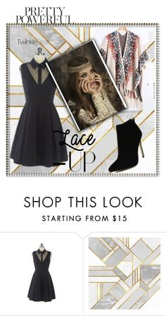 """Chic lady"" by zina1002 ❤ liked on Polyvore featuring vintage"