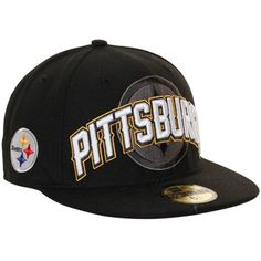 NFL New Era Pittsburgh Steelers NFL Draft 59FIFTY Fitted Hat