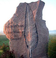 Featherstone entrance marker