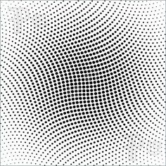 Vector halftone dots for backgrounds and design. Category: Stock vector illustration, Illustrator: Size: 4961 x Reference: Pattern Art, Pattern Design, Pattern Images, Principles Of Design, Wave Design, Dots Design, Music Tattoos, Arte Pop, Elements Of Art