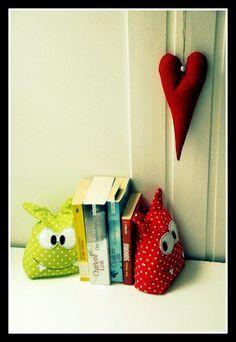 Von Herzen: Monster: Buchstützen oder Türstopper