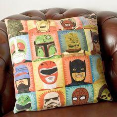 Heroes & Villains Cushion
