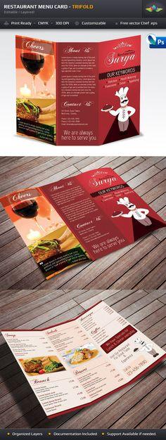 Italian Menu Template vol2 Menu templates, Food menu and Menu - italian menu