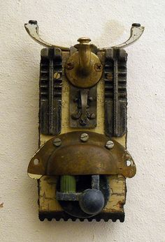 Totem found object assemblage by tristanfrancis on Etsy, $200.00 Love his work, very talented guy.