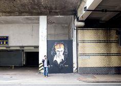 David Bowie, Dudley Street (new folder) Tags: music graffiti birmingham mural southside davidbowie birminghamuk dudleystreet annatomix annastus