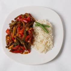 Bretan'ské fazole Just Eat It, Lentils, Tofu, Quinoa, Beans, Chicken, Kitchen, Recipes, Invite