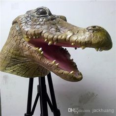 peter pan crocodile full mask - Google Search