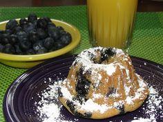 The Mommy Island: Orange Blueberry~ Fancy Bread Mini Bundts. Wholesom Sweeteners Day 2