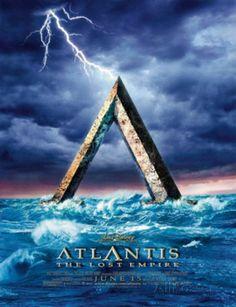 Atlantis the Lost Empire Pôster original