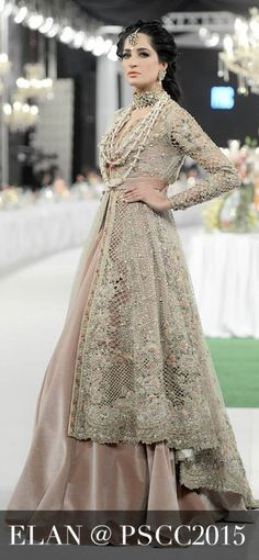 Pakistani designer dress by Elan. uploaded by Fatimah Hayat.