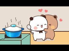 Hug Cartoon, Cute Panda Cartoon, Cute Cartoon Pictures, Cute Love Pictures, Cute Images, Cute Love Memes, Cute Love Gif, Cute Love Cartoons, Cute Cat Gif