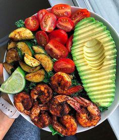 Easy Blackened Shrimp Choosing Balance Recipes foodhealthyrecipes is part of Healthy recipes - Healthy Meal Prep, Healthy Snacks, Healthy Recipes, Dinner Healthy, Clean Eating Snacks, Healthy Eating, Seafood Recipes, Cooking Recipes, Cooking Eggs