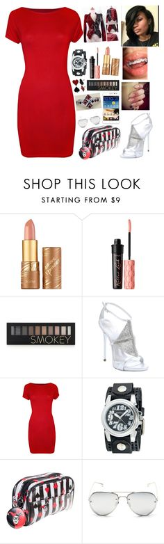 """""""Announcing My Engagement To My Friends....."""" by michael-jackson-junkie ❤ liked on Polyvore featuring tarte, Benefit, Forever 21, Giuseppe Zanotti, WearAll, Nemesis, Samsung and Linda Farrow"""