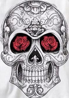 Rad sugar skull More