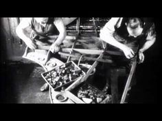 C. Bechstein - Klavierbau gestern : Imagefilm von 1926.  Incredible vintage video about piano making.  http://youtu.be/STULbohrNt0