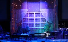Beautiful Christmas Stage Design from www.flexstage.com