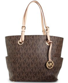 MICHAEL Michael Kors Handbag, Signature Tote - Tote Bags - Handbags & Accessories - Macy's