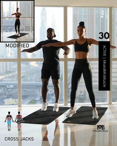 Fitness Workouts, Hiit Workout Videos, Full Body Hiit Workout, Cardio Workout At Home, Gym Workout For Beginners, Gym Workout Tips, Cardio Hiit, Gym Fitness, Song Workouts