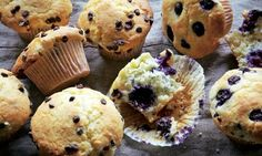 Dan Lepard's sweet muffins: A great platform to play around with flavours. Photograph: Colin Campbell for the Guardian