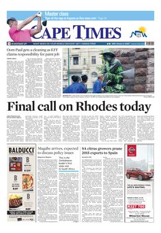 News making headlines: Final call on Rhodes today