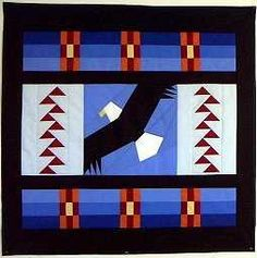 Dancing Eagles Star Quilt Pattern | Quilts – when choosing bedding, consider an old favorite