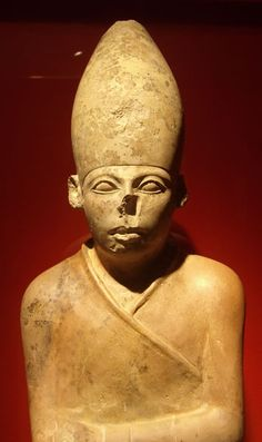 Statue of Khasekhemwy, Ashmolean Museum. Pharaoh of Egypt. Reign	18 years ca. 2690 BC, 2nd Dynasty