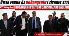 Malatya Haber : http://www.malatyahabermerkezi.com Ömer Faruk Öz'ün Doğanşehir Belediyesi Ziyareti ve Vahap Küçük konuşmaları