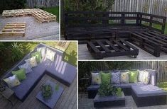 Patio furniture homemade