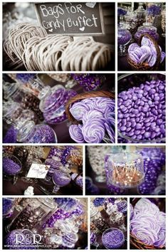 Candy Buffet purple