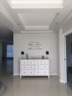 Wall art quotes inspiration beach theme hallway home IKEA