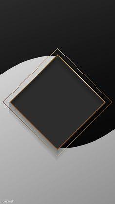 Gold And Black Background, Black Background Wallpaper, Framed Wallpaper, Logo Background, Poster Background Design, Background Patterns, Black Abstract Background, Flower Backgrounds, Abstract Backgrounds