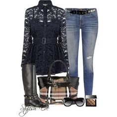 outfits for women 2013 | Burberry-Winter-2013-Outfits-for-Women-by-Stylish-Eve_10