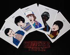 """Check out new work on my @Behance portfolio: """"Stranger Things Squad"""" http://be.net/gallery/45923193/Stranger-Things-Squad"""
