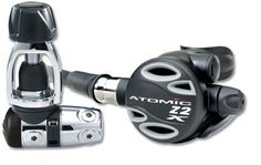 Atomic Z2X First  Second Stage Scuba Dive Diving Regulators YOKE Gray * Learn more by visiting the image link.