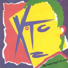 "XTC - Drums and Wires. I own quite a bit of XTC, but this is still one of my favourites. From the cynicism of ""Making Plans for Nigel"" to the joy ""Life begins at the Hop"". Art Punk, Vintage Nike Sweatshirt, New Wave, University Of Southern California, Great Albums, Anime One, Comme Des Garcons, Boat Plans, Album Covers"
