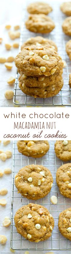 the classic combo of melty white chocolate and buttery macadamia nuts ...