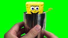 Spongebob Play doh STOP MOTION video. Animación de Bob Esponja.