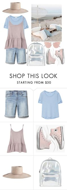 """""""Outfit #53"""" by filosofy ❤ liked on Polyvore featuring Gap, Splendid, Topshop, Madewell, Zimmermann, Accessorize, So.Ya, beachday, picnic and backpack"""