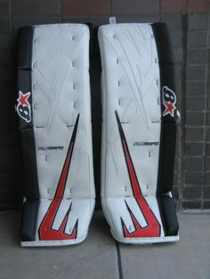 Total Hockey Color Scheme!  Order a custom set of pads at http://goalie.totalhockey.com/default.aspx