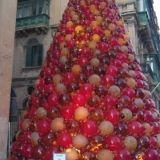 """#Concorso #GreenMarathonTappa 5 #Natale #Green Cristina: """"Quest'anno ho voluto creare un albero di Natale con materiale di riciclo, ispirandomi a questo visto a Malta."""""""