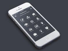 Dribbble - Secret App by Barry Mccalvey