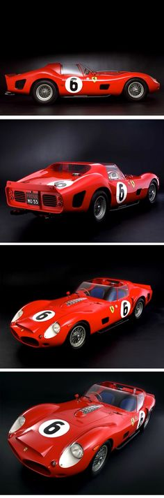 combustible-contraptions:  1962 Ferrari 330 TRI - LM Spyder | Testa Rossa Independente